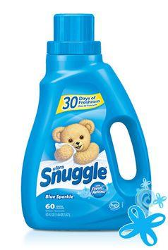 Snuggle® Ultra™ Blue Sparkle® Liquid Fabric Softener