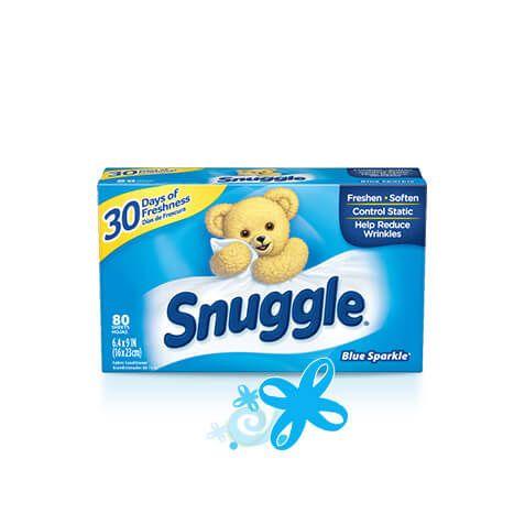 Snuggle® Original Blue Sparkle® Dryer Sheets