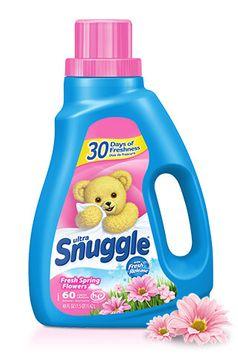 Snuggle® Ultra™ Fresh Spring Flowers® Liquid Fabric Softener