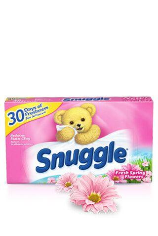 Snuggle® Original Fresh Spring Flowers® Dryer Sheets