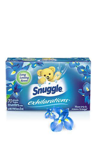 Snuggle® Exhilarations® Blue Iris & Ocean Breeze® Dryer Sheets