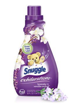 Snuggle ® Exhilarations ® Lavender & Vanilla Orchid ® Fabric Softener