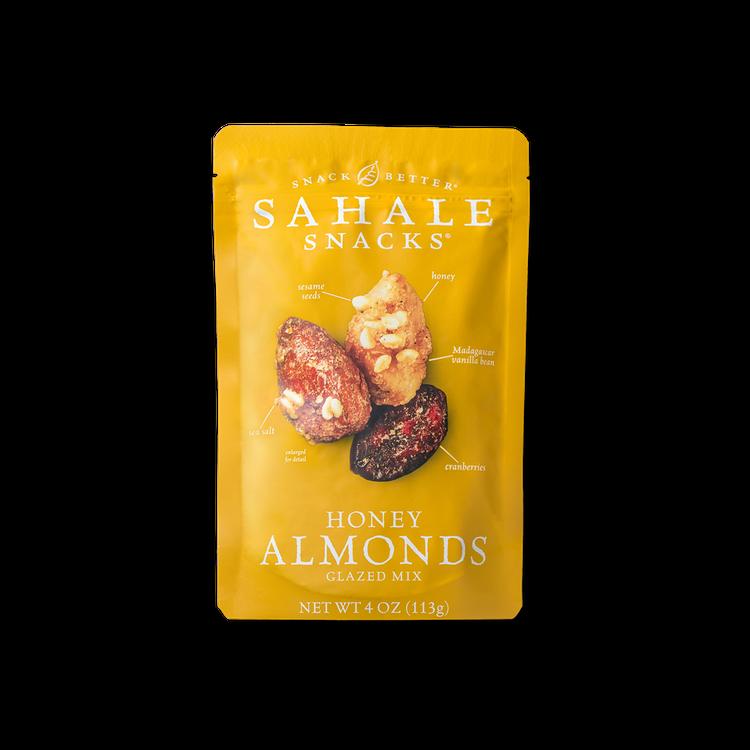 Sahale Snacks Honey Almonds Glazed Mix