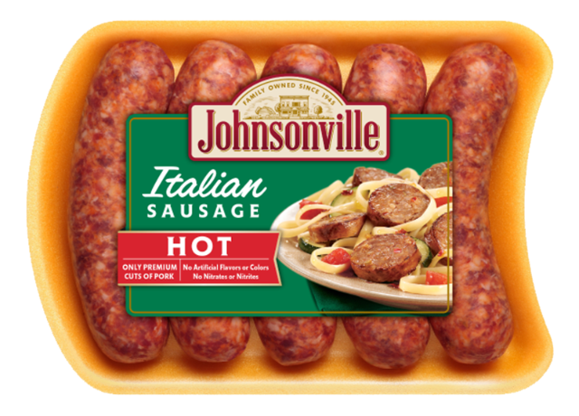 Johnsonville Fresh Italian Hot Sausage Links