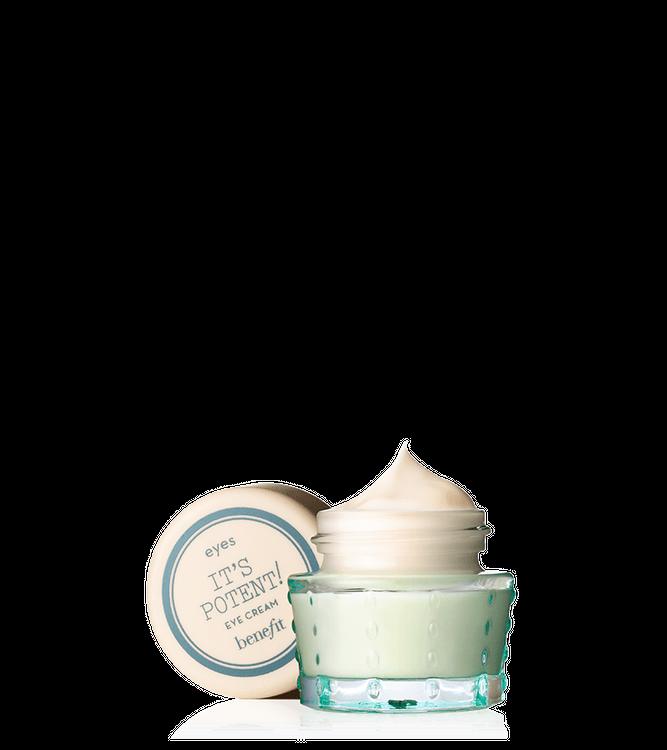 Slide: Benefit Cosmetics it's potent! eye cream deluxe sample