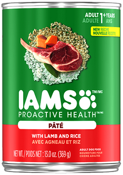 IAMS™ ProActive Health™ WITH LAMB AND RICE PATE