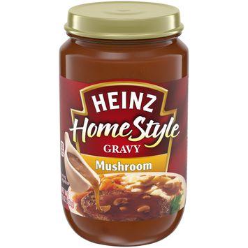 Heinz HomeStyle Mushroom Gravy, 12 oz Jar
