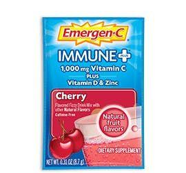 Emergenc Enhanced Immune Support Fizzy Drink Mix Cherry