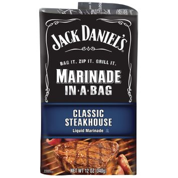 Jack Daniel's™ Classic Steakhouse Marinade In-A-Bag 12 oz Pouch