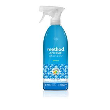 Method Antibacterial Bathroom Cleaner, Spearmint, 28 Ounce