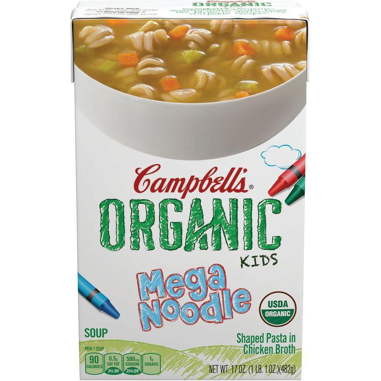 Campbell's® Organic Kids Mega Noodle Soup, 17 oz.