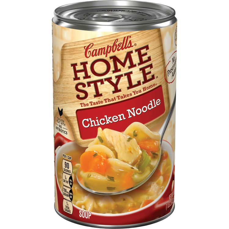 Campbell's® Homestyle Chicken Noodle Soup, 18.6 oz.