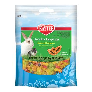 Kaytee Healthy Toppings Natural Papaya Small Animal 2.5 ounces