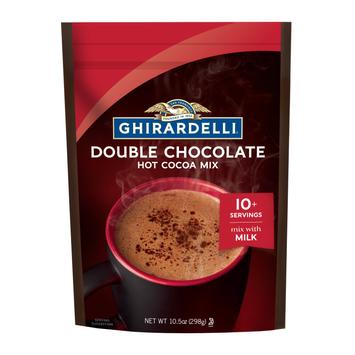 Ghirardelli Double Chocolate Premium Hot Cocoa Mix