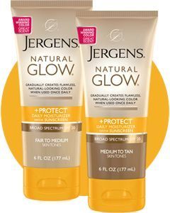 Jergens Natural Glow +Protect Sunscreen SPF 20
