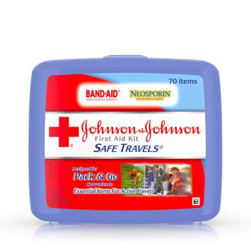 Johnson & Johnson SAFE TRAVELS® First Aid Kit