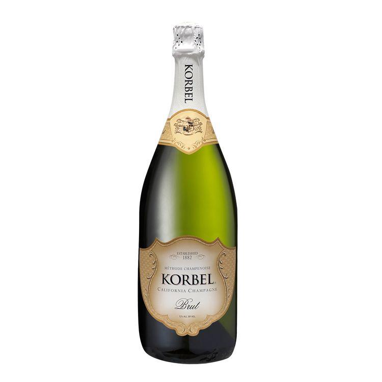 Korbel Brut California Champagne, 24 Proof