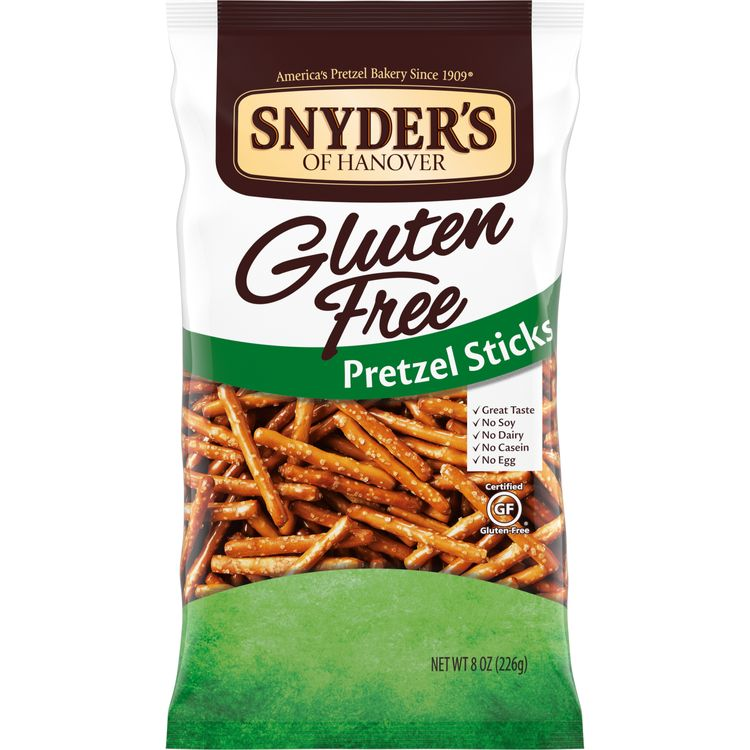 Snyder's of Hanover Gluten Free Pretzel Sticks, 8 Oz