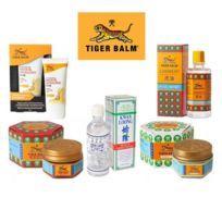 Baume du Tigre Pack 5 produits   Anti Douleur   Thailande