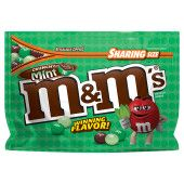 M&M'S Crunchy Mint Pouch Flavor Vote Winner 8 Ounce