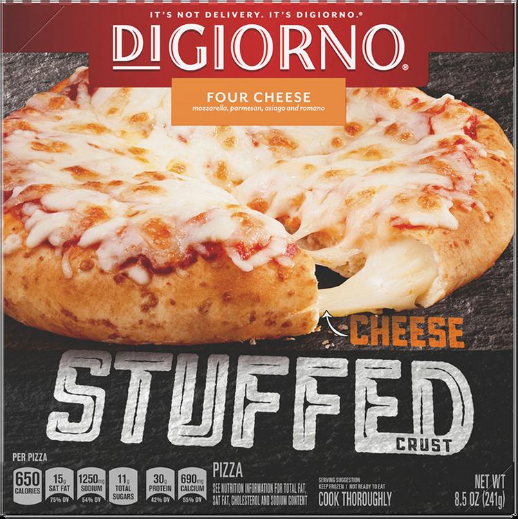DiGiorno Four Cheese Frozen Cheese Stuffed Crust Pizza