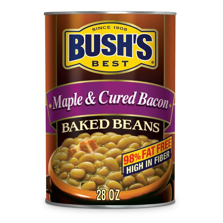 BUSH'S Maple & Cured Bacon Baked Beans 28 oz