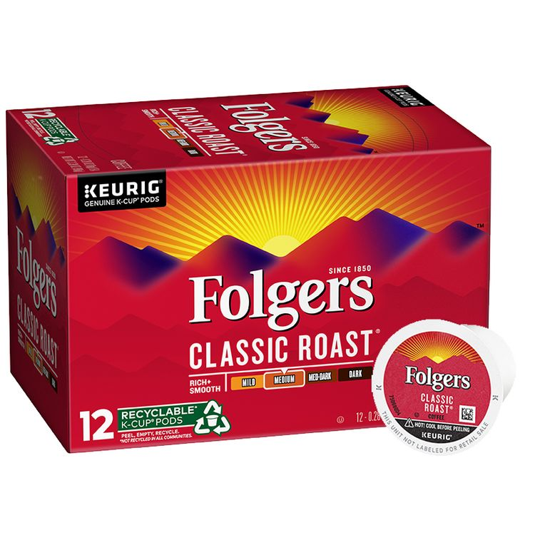 Folgers Classic Roast ® Coffee K-Cup ® Pods