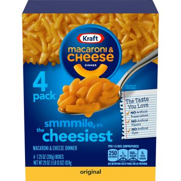 Kraft Original Flavor Macaroni and Cheese