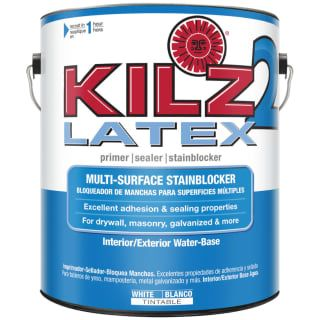 Kilz 20941 Latex Interior/Exterior Water-Based White Primer - 1 Gallon