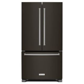 KitchenAid KRFC300E 36 Inch Wide 20 Cu. Ft. Counter Depth French Door Refrigerator with Interior Water Dispenser