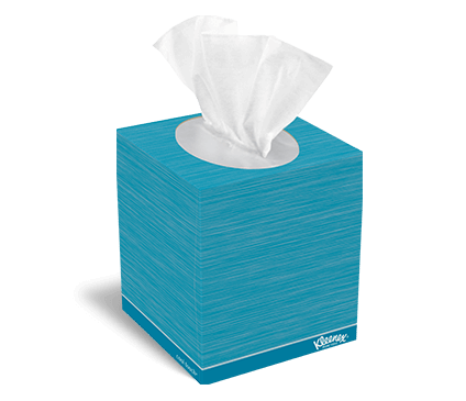 Kleenex® cooling lotion™ tissues