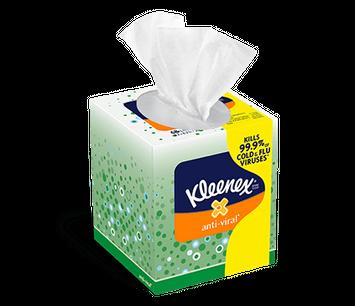 Kleenex® anti-viral tissues