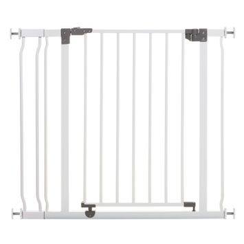 Dreambaby Liberty 29.5-36.5in Auto Close Metal Baby Safety Gate - White