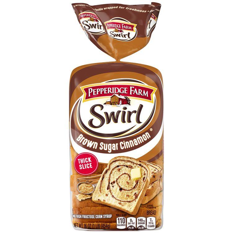 Pepperidge Farm® Swirl Brown Sugar Cinnamon Breakfast Bread, 16 oz. Loaf