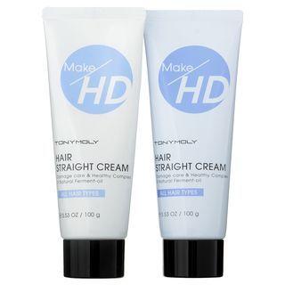 Tony Moly - Make HD Hair Straight Cream 100g x 2 100g x 2