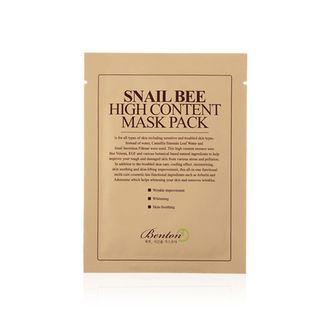Benton - Snail Bee High Content Mask Pack 20g