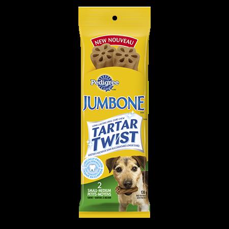 PEDIGREE JUMBONE TARTAR TWIST Snacks for Toy & Small Dogs