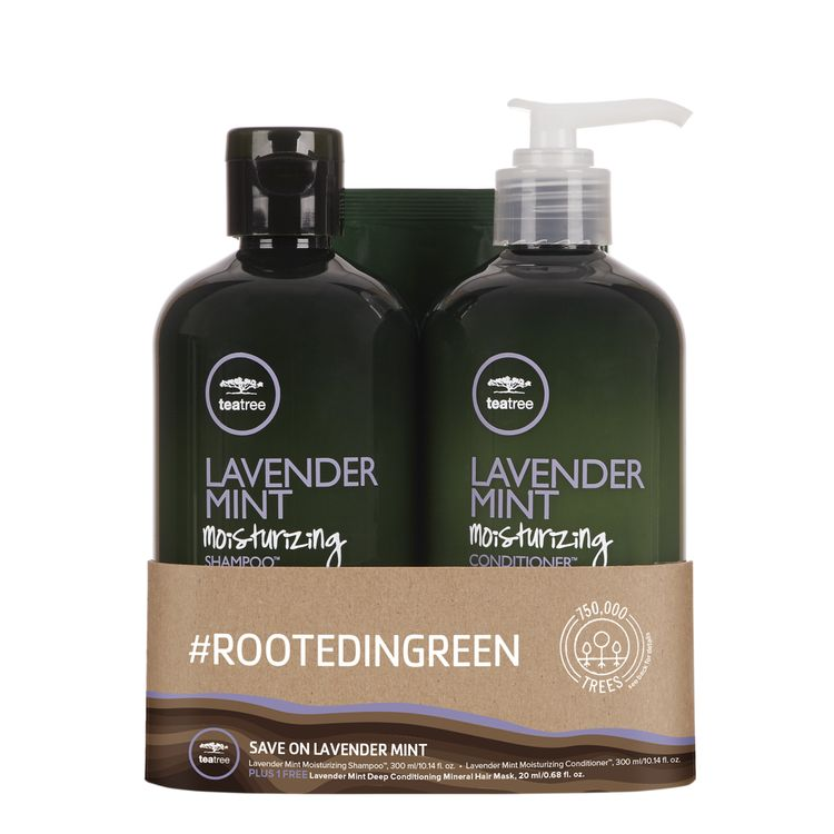 Tea Tree #RootedInGreen Lavender Mint Care Duo Set