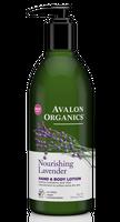 Avalon Organics Nourishing Lavender Hand & Body Lotion