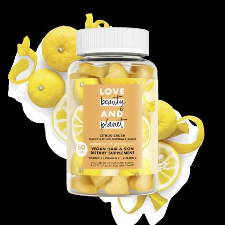 citrus crush vegan hair & skin dietary supplement