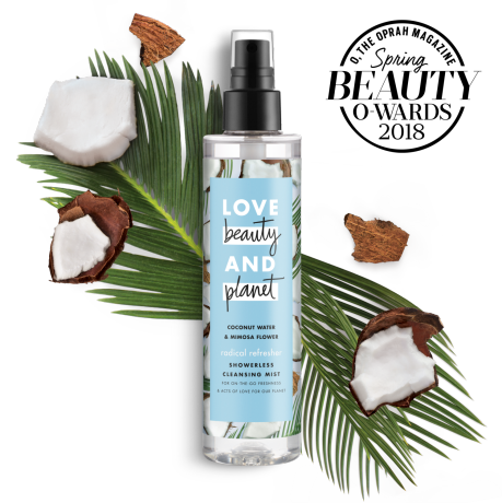 Love Beauty And Planet coconut water & mimosa flower showerless cleansing mist