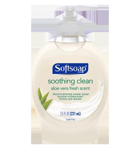 Softsoap® Soothing Aloe Vera Liquid Hand Soap