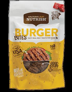 Burger Bites Beef and Bison Dog Treats