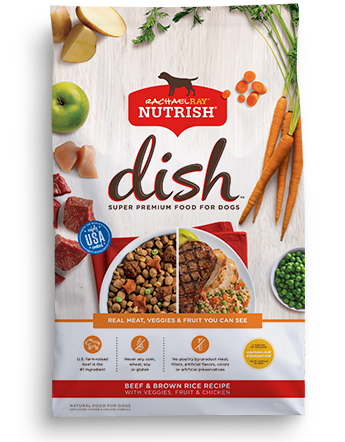Rachael Ray Nutrish Nutrish DISH® Beef & Brown Rice Recipe With Veggies, Fruit & Chicken