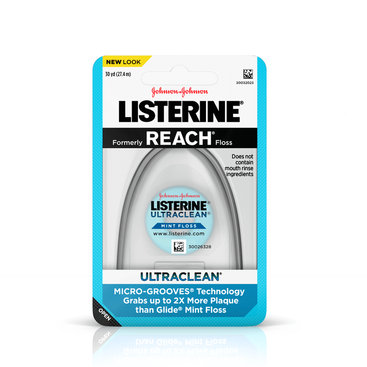 LISTERINE® ULTRACLEAN® Textured Dental Floss