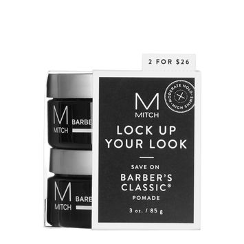 Mitch Barber's Classic Pomade Duo Set