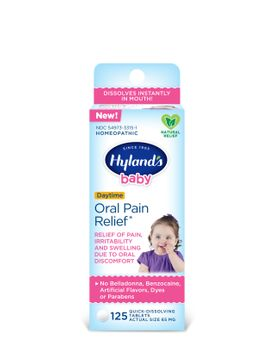 Hyland's Baby Oral Pain Relief, 125 tablets (Mini Pack)