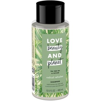 Love Beauty and Planet Tea Tree Oil and Vetiver Radical Refresher Shampoo