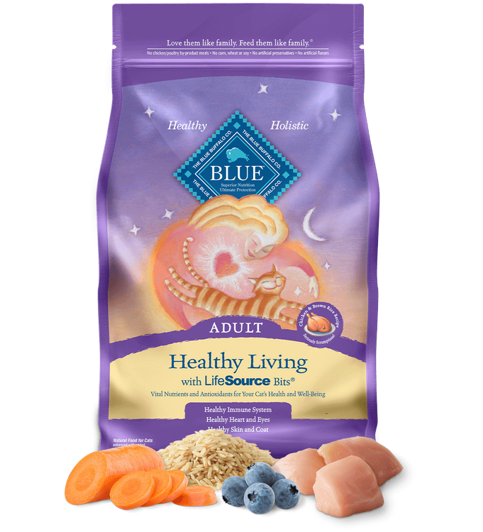 Blue™ Healthy Living Dry Cat Food Chicken & Brown Rice Recipe