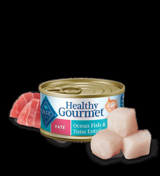Blue Healthy Gourmet™ Wet Cat Food - Ocean Fish & Tuna